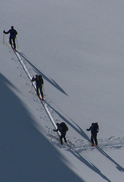 Winter  Ski Gruppe
